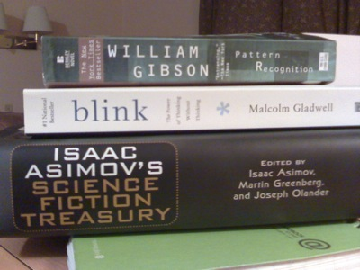 Pattern Recognition, Blink, Science Fiction Treasury